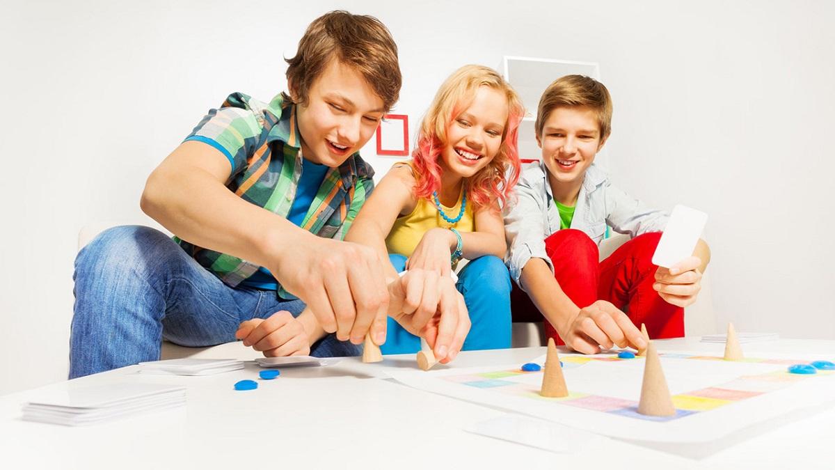 Игры подростков в картинках